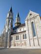 Vienna - Gothic south facade of monastery