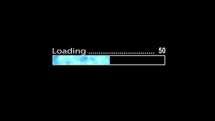 Loading Bar Blue