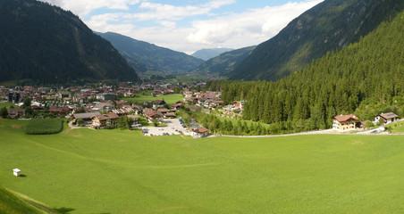 Panorama Mayrhofen im Zillertal