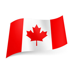 State flag of Canada.