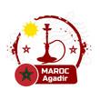 timbre agadir, Maroc