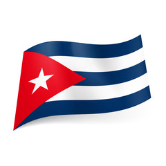 State flag of Cuba.