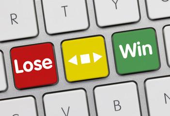 Win or Lose keyboard