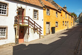 A street in Culross, Scotland, UK