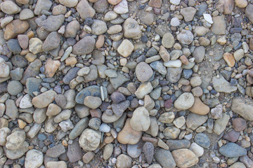 Gravel texture background