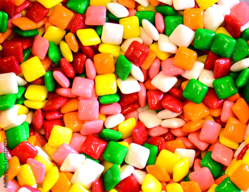square gum or candy background