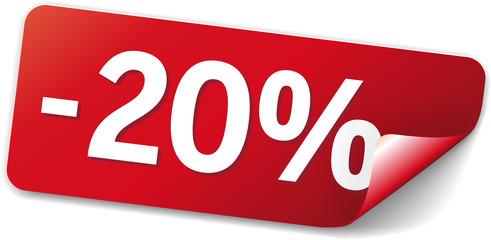 sticker rot -20%