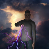 Man with power over lightning