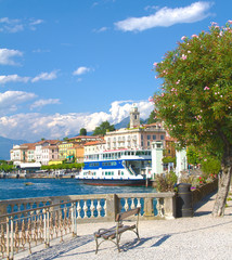 Glimpse of Bellagio, Como lake