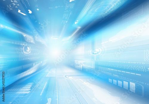 Digital background image