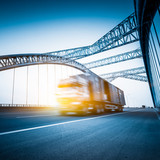 truck motion blur - Fine Art prints
