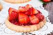 Small Strawberry Tart