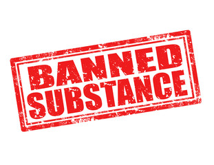 Banned substance-stamp