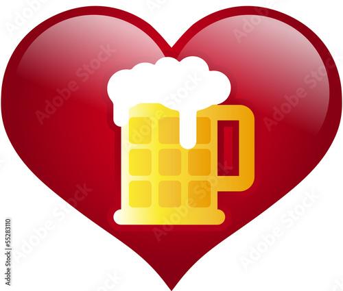 Bier Herz