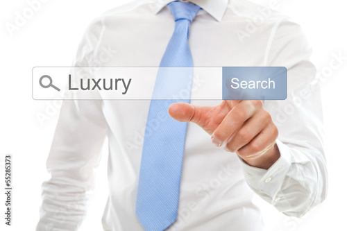 Luxury in search bar