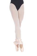 Lower half waist down image of ballerina dancing
