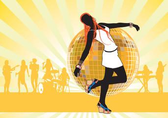 Girl dancing3
