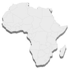 アフリカ 地図 国