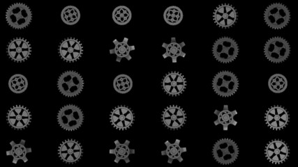 gears animation clockwise