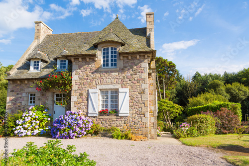 French Brittany typical house