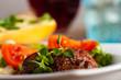 Gegrilltes Steak mit Oregano
