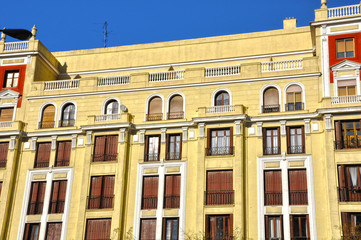 Urbanismo madrileño, pisos de la calle Goya de Madrid