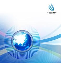 グローバルイメージ・パンフレット素材