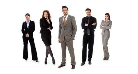 Team of businesspeople