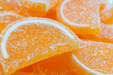 Marmalade  in the form of orange slices
