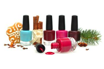 Nail polish - make-up for a New Year party