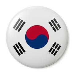 South Korea Pin-back