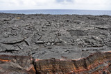 Lava field, Hawaii Volcanoes National Park (USA)
