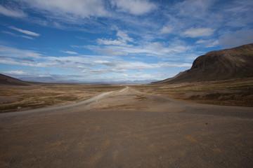 Deserto di sabbia e pomice Islanda