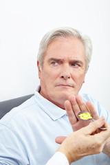 Patient verweigert Einnahme von Tabletten