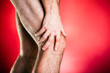 Running physical injury, knee pain