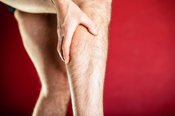 Physical injury, calf pain