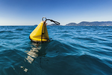 yellow sea buoy