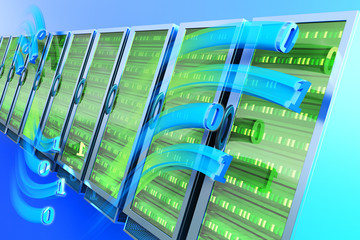 Data hosting concept