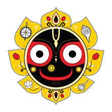 Jagannath. Indiase God van het heelal.