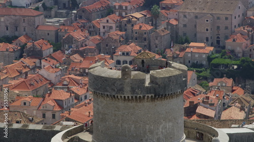 Minceta Tower in Dubrovnik old town, Croatia