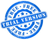 free trial version stamp