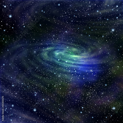 Space galaxy image,illustration