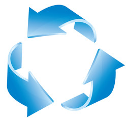 Recycling Icon 3d