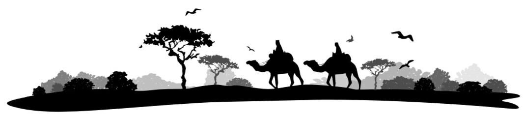Wüste Kamele