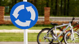 A road sign with bicycles 2