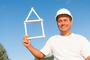 Junger Bauherr erfüllt sich Traum vom Eigenheim