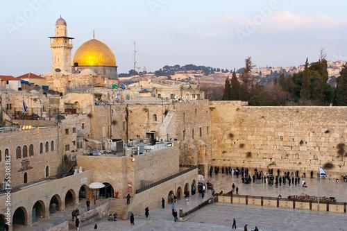 Aluminium Bedehuis Wailing Wall Jerusalem