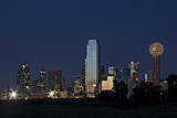 Dallas down town night skyline - Fine Art prints