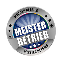 Bügel Button Meister Betrieb