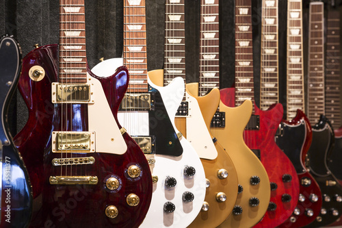 Fototapeta Electric Guitars